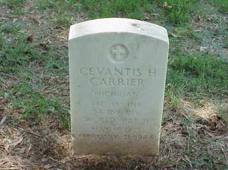 CARRIER (VETERAN WWII), CEVANTIS H - Pulaski County, Arkansas | CEVANTIS H CARRIER (VETERAN WWII) - Arkansas Gravestone Photos