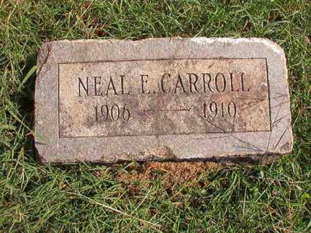 CARROLL, NEAL E - Pulaski County, Arkansas | NEAL E CARROLL - Arkansas Gravestone Photos