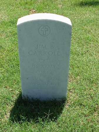 CARROLL (VETERAN KOR), JIM B - Pulaski County, Arkansas | JIM B CARROLL (VETERAN KOR) - Arkansas Gravestone Photos