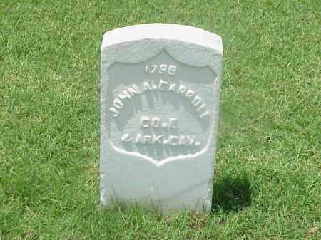 CARROLL (VETERAN UNION), JOHN A - Pulaski County, Arkansas | JOHN A CARROLL (VETERAN UNION) - Arkansas Gravestone Photos