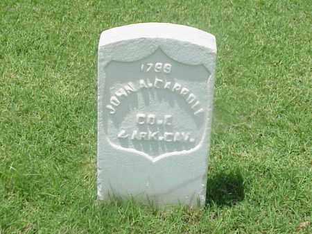 CARROLL (VETERAN UNION), JOHN A - Pulaski County, Arkansas | JOHN A CARROLL (VETERAN UNION) - Arkansas Gravestone Photos