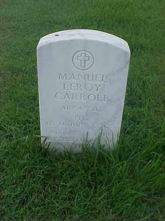 CARROLL (VETERAN VIET), MANUEL LEROY - Pulaski County, Arkansas | MANUEL LEROY CARROLL (VETERAN VIET) - Arkansas Gravestone Photos