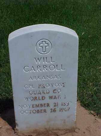 CARROLL (VETERAN WWI), WILL - Pulaski County, Arkansas | WILL CARROLL (VETERAN WWI) - Arkansas Gravestone Photos