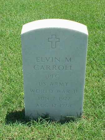 CARROLL (VETERAN WWII), ELVIN M - Pulaski County, Arkansas | ELVIN M CARROLL (VETERAN WWII) - Arkansas Gravestone Photos