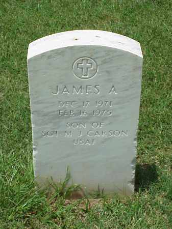 CARSON, JAMES A. - Pulaski County, Arkansas | JAMES A. CARSON - Arkansas Gravestone Photos