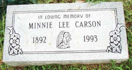 CARSON, MINNIE LEE - Pulaski County, Arkansas | MINNIE LEE CARSON - Arkansas Gravestone Photos