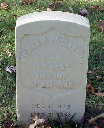 CARSON (VETERAN SAW), WILLIAM W - Pulaski County, Arkansas | WILLIAM W CARSON (VETERAN SAW) - Arkansas Gravestone Photos