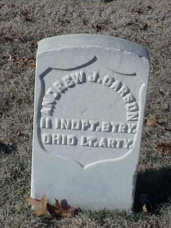 CARSON (VETERAN UNION), ANDREW J - Pulaski County, Arkansas   ANDREW J CARSON (VETERAN UNION) - Arkansas Gravestone Photos