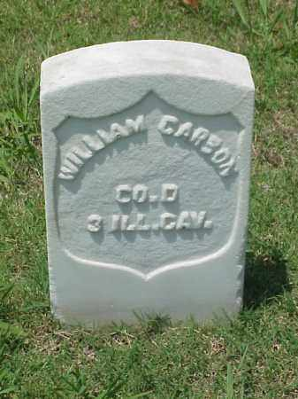 CARSON (VETERAN UNION), WILLIAM - Pulaski County, Arkansas | WILLIAM CARSON (VETERAN UNION) - Arkansas Gravestone Photos