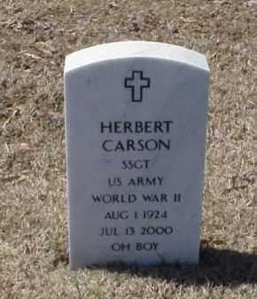 CARSON (VETERAN WWII), HERBERT - Pulaski County, Arkansas | HERBERT CARSON (VETERAN WWII) - Arkansas Gravestone Photos