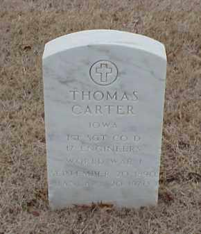 CARTER  (VETERAN WWI), THOMAS - Pulaski County, Arkansas | THOMAS CARTER  (VETERAN WWI) - Arkansas Gravestone Photos