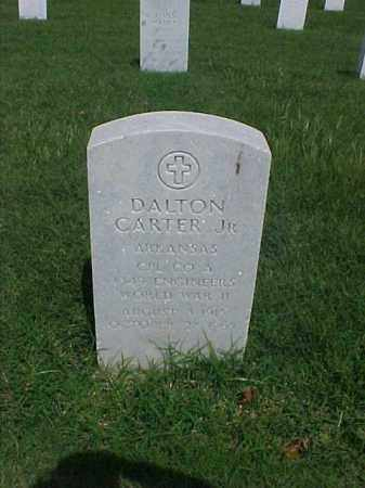 CARTER, JR (VETERAN WWII), DALTON - Pulaski County, Arkansas | DALTON CARTER, JR (VETERAN WWII) - Arkansas Gravestone Photos