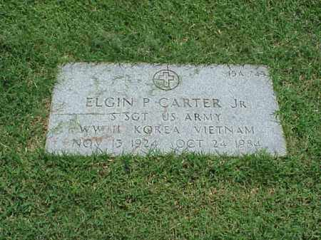 CARTER, JR (VETERAN 3 WARS), ELGIN PINK - Pulaski County, Arkansas | ELGIN PINK CARTER, JR (VETERAN 3 WARS) - Arkansas Gravestone Photos
