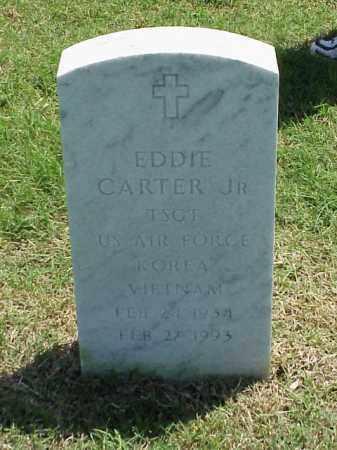 CARTER JR (VETERAN 2 WARS), EDDIE - Pulaski County, Arkansas | EDDIE CARTER JR (VETERAN 2 WARS) - Arkansas Gravestone Photos