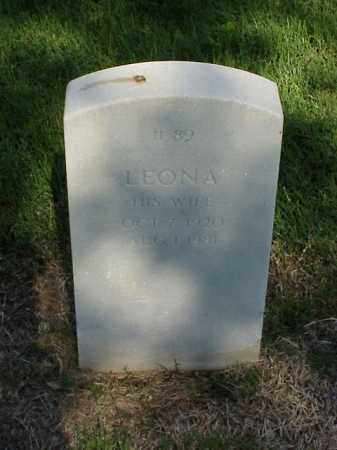 CARTER, LEONA - Pulaski County, Arkansas | LEONA CARTER - Arkansas Gravestone Photos