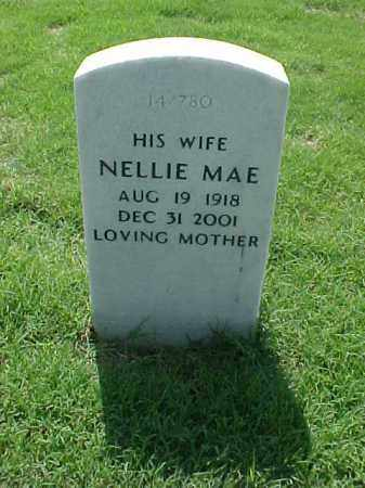CARTER, NELLIE MAE - Pulaski County, Arkansas | NELLIE MAE CARTER - Arkansas Gravestone Photos