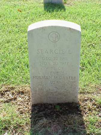 CARTER, SEARCIE L - Pulaski County, Arkansas | SEARCIE L CARTER - Arkansas Gravestone Photos