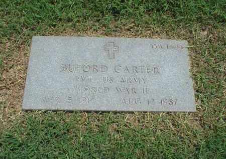 CARTER (VETERAN WWII), BUFORD - Pulaski County, Arkansas | BUFORD CARTER (VETERAN WWII) - Arkansas Gravestone Photos