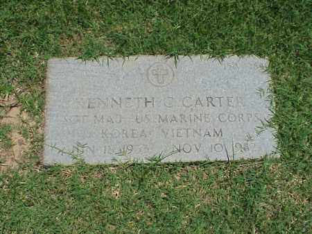 CARTER (VETERAN 2 WARS), KENNETH C - Pulaski County, Arkansas | KENNETH C CARTER (VETERAN 2 WARS) - Arkansas Gravestone Photos