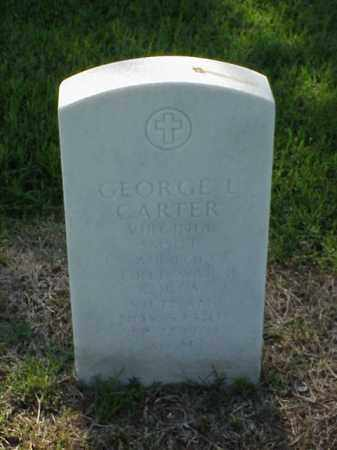 CARTER (VETERAN 3 WARS), GEORGE L - Pulaski County, Arkansas | GEORGE L CARTER (VETERAN 3 WARS) - Arkansas Gravestone Photos