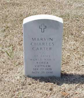 CARTER (VETERAN 3 WARS), MARVIN CHARLES - Pulaski County, Arkansas | MARVIN CHARLES CARTER (VETERAN 3 WARS) - Arkansas Gravestone Photos