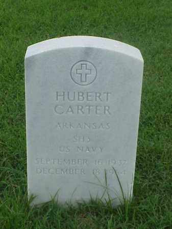 CARTER (VETERAN), HUBERT - Pulaski County, Arkansas | HUBERT CARTER (VETERAN) - Arkansas Gravestone Photos