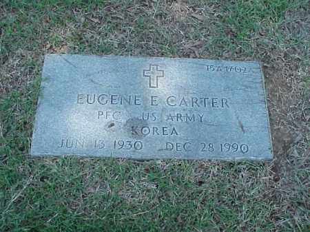 CARTER (VETERAN KOR), EUGENE E - Pulaski County, Arkansas | EUGENE E CARTER (VETERAN KOR) - Arkansas Gravestone Photos