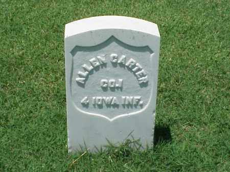 CARTER (VETERAN UNION), ALLEN - Pulaski County, Arkansas | ALLEN CARTER (VETERAN UNION) - Arkansas Gravestone Photos
