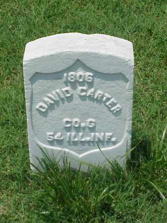 CARTER (VETERAN UNION), DAVID - Pulaski County, Arkansas | DAVID CARTER (VETERAN UNION) - Arkansas Gravestone Photos