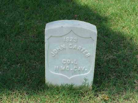 CARTER (VETERAN UNION), JOHN - Pulaski County, Arkansas | JOHN CARTER (VETERAN UNION) - Arkansas Gravestone Photos