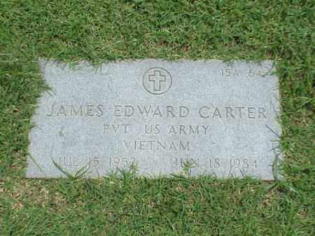 CARTER (VETERAN VIET), JAMES EDWARD - Pulaski County, Arkansas | JAMES EDWARD CARTER (VETERAN VIET) - Arkansas Gravestone Photos