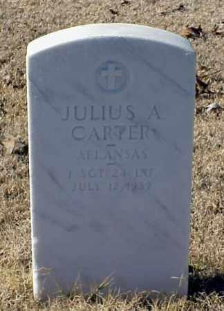 CARTER (VETERAN WWI), JULIUS A - Pulaski County, Arkansas | JULIUS A CARTER (VETERAN WWI) - Arkansas Gravestone Photos
