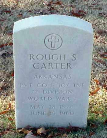 CARTER (VETERAN WWI), ROUGH S - Pulaski County, Arkansas | ROUGH S CARTER (VETERAN WWI) - Arkansas Gravestone Photos