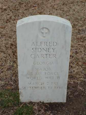CARTER (VETERAN WWII), ALFRED SIDNEY - Pulaski County, Arkansas | ALFRED SIDNEY CARTER (VETERAN WWII) - Arkansas Gravestone Photos