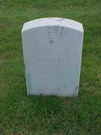 CARTER (VETERAN WWII), ELMO A - Pulaski County, Arkansas | ELMO A CARTER (VETERAN WWII) - Arkansas Gravestone Photos