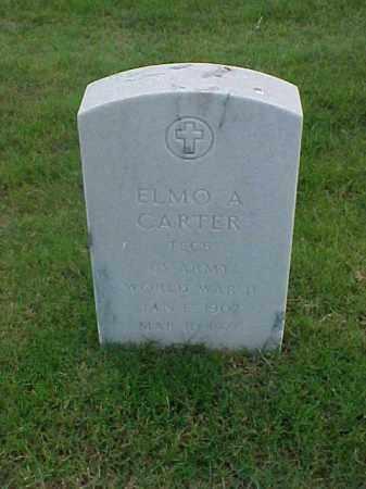 CARTER (VETERAN WWII), ELMO A - Pulaski County, Arkansas | ELMO A CARTER (VETERAN WWII) - Arkansas Gravestone Photos