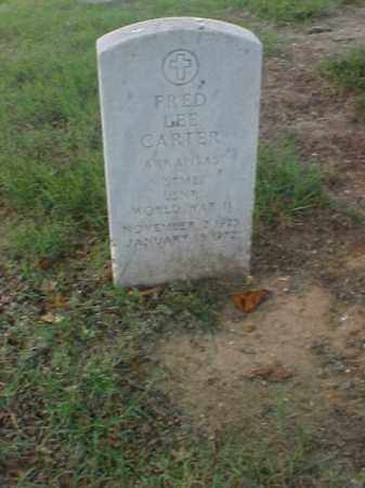 CARTER (VETERAN WWII), FRED LEE - Pulaski County, Arkansas | FRED LEE CARTER (VETERAN WWII) - Arkansas Gravestone Photos