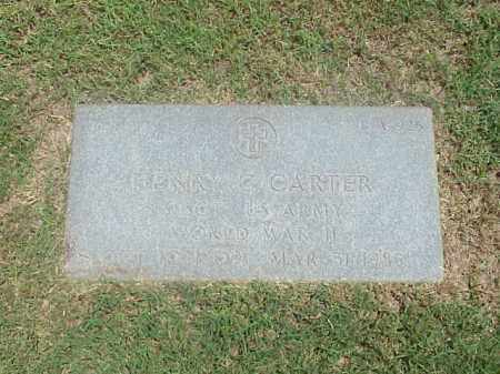 CARTER (VETERAN WWII), HENRY C - Pulaski County, Arkansas | HENRY C CARTER (VETERAN WWII) - Arkansas Gravestone Photos