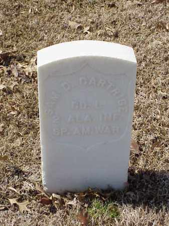 CARTRIGE (VETERAN SAW), SAM D - Pulaski County, Arkansas | SAM D CARTRIGE (VETERAN SAW) - Arkansas Gravestone Photos