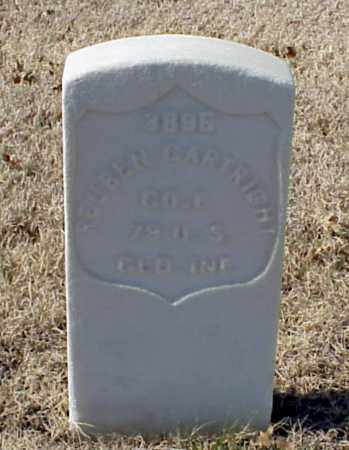 CARTRIGHT (VETERAN UNION), REUBEN - Pulaski County, Arkansas | REUBEN CARTRIGHT (VETERAN UNION) - Arkansas Gravestone Photos