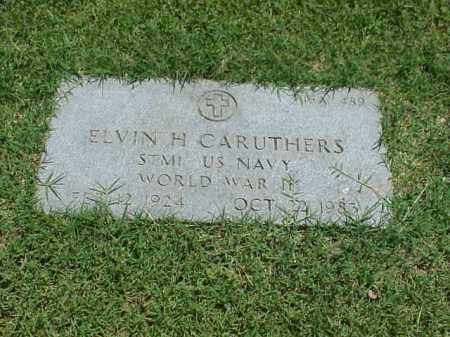 CARUTHERS (VETERAN WWII), ELVIN H - Pulaski County, Arkansas | ELVIN H CARUTHERS (VETERAN WWII) - Arkansas Gravestone Photos