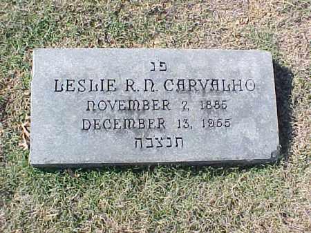 CARVALHO, LESLIE R N - Pulaski County, Arkansas | LESLIE R N CARVALHO - Arkansas Gravestone Photos