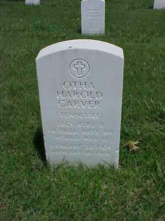 CARVER (VETERAN WWII), OTHA HAROLD - Pulaski County, Arkansas | OTHA HAROLD CARVER (VETERAN WWII) - Arkansas Gravestone Photos