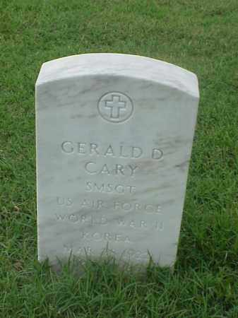 CARY (VETERAN  2 WARS), GERALD D - Pulaski County, Arkansas | GERALD D CARY (VETERAN  2 WARS) - Arkansas Gravestone Photos