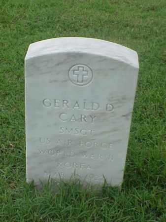 CARY (VETERAN  2 WARS), GERALD D - Pulaski County, Arkansas | GERALD D CARY (VETERAN  2 WARS) - Arkansas Gravestone Photos