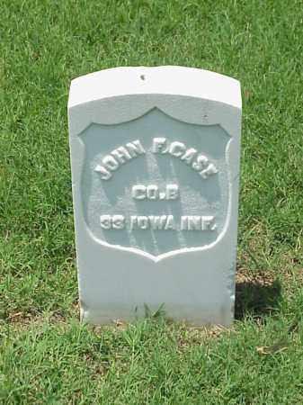 CASE (VETERAN UNION), JOHN F - Pulaski County, Arkansas | JOHN F CASE (VETERAN UNION) - Arkansas Gravestone Photos