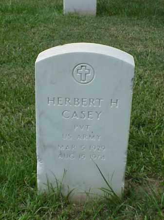 CASEY (VETERAN), HERBERT H - Pulaski County, Arkansas | HERBERT H CASEY (VETERAN) - Arkansas Gravestone Photos