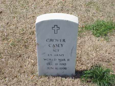 CASEY (VETERAN WWII), GROVER - Pulaski County, Arkansas | GROVER CASEY (VETERAN WWII) - Arkansas Gravestone Photos