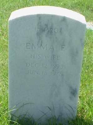 CASH, EMMA E. - Pulaski County, Arkansas | EMMA E. CASH - Arkansas Gravestone Photos
