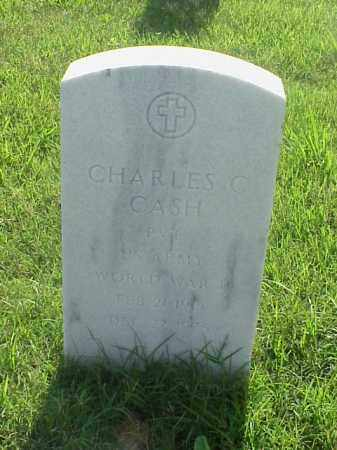 CASH (VETERAN WWII), CHARLES C - Pulaski County, Arkansas | CHARLES C CASH (VETERAN WWII) - Arkansas Gravestone Photos